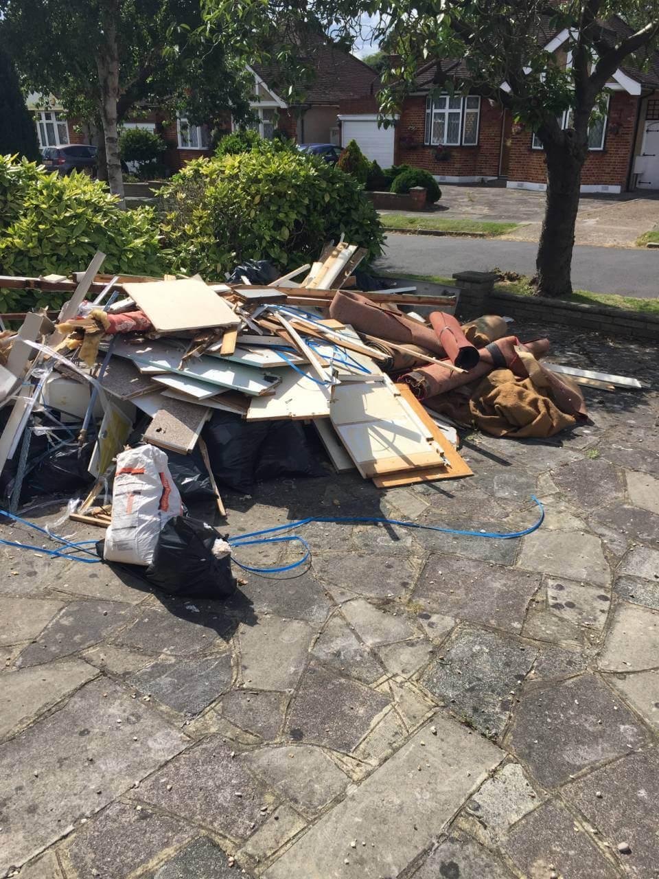 Camden house rubbish disposal NW1