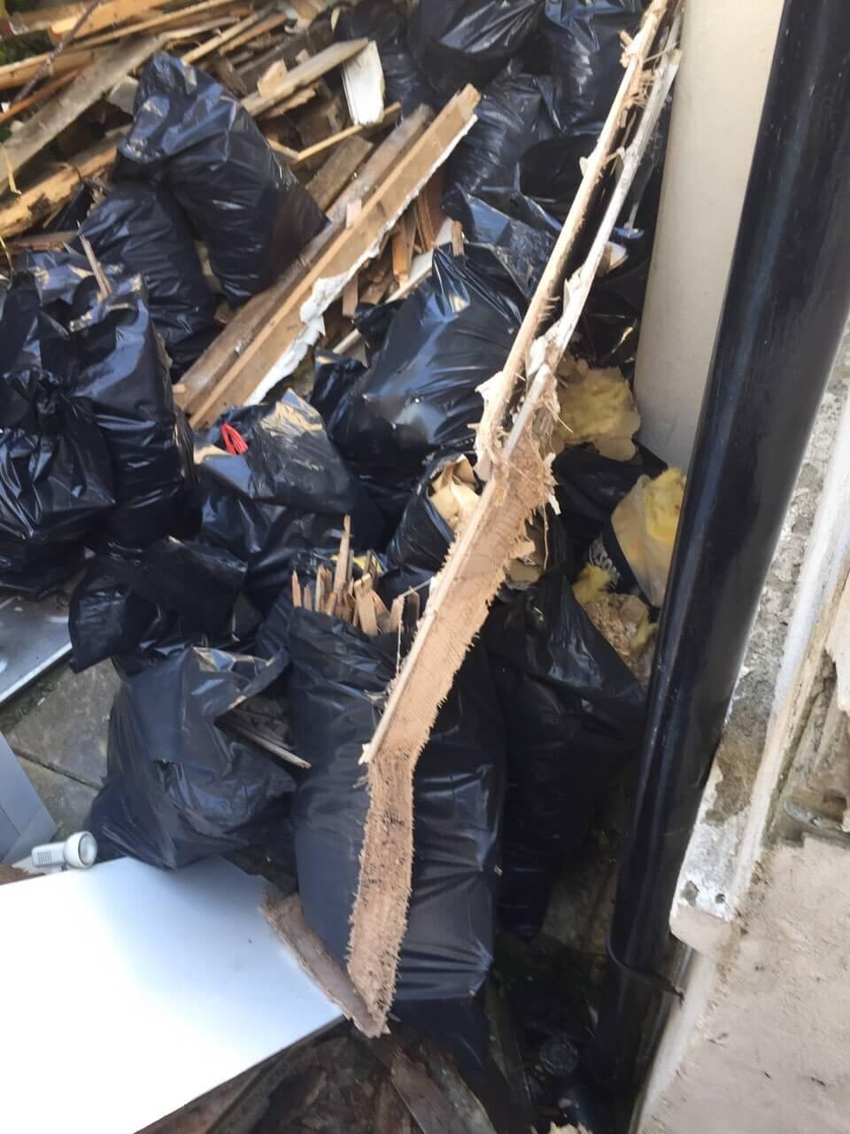 SW4 waste collectors Clapham Common