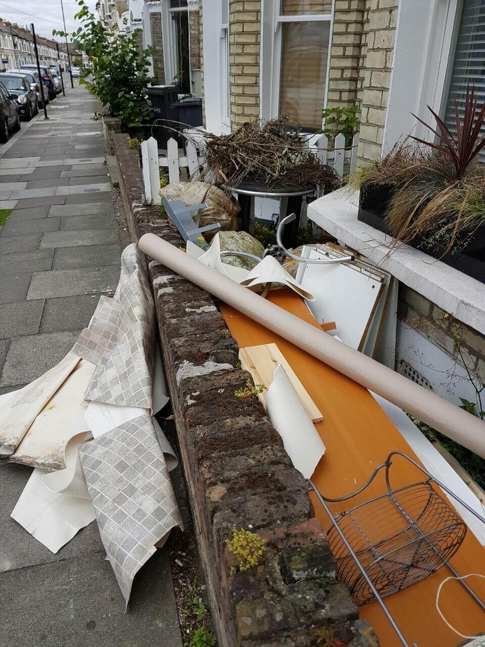 Ealing house rubbish disposal W5