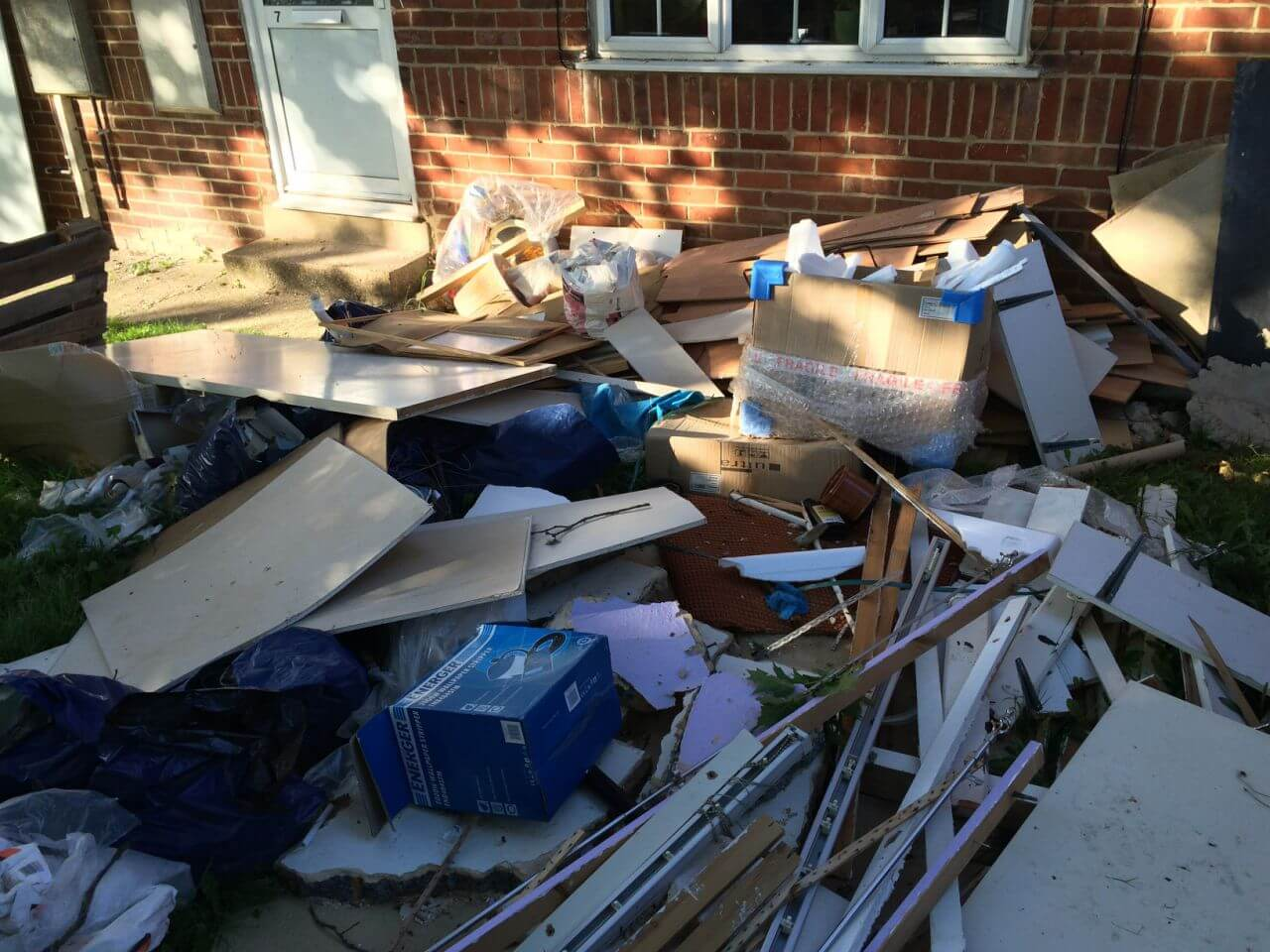 Finsbury Park house rubbish disposal N4