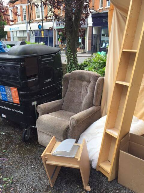 SW3 House Waste Collection Knightsbridge