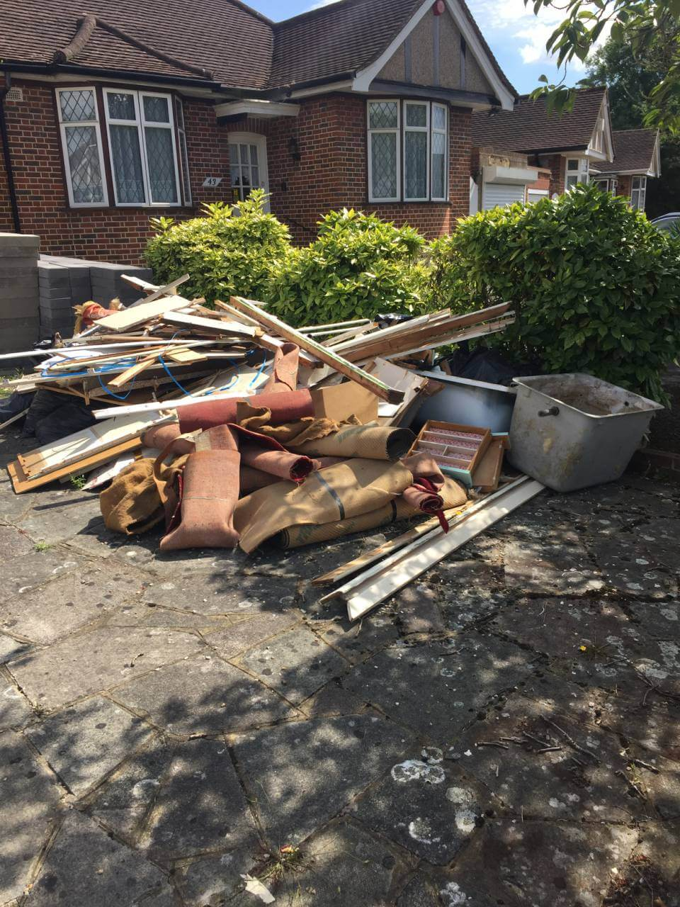 House Waste Recycling in Wimbledon