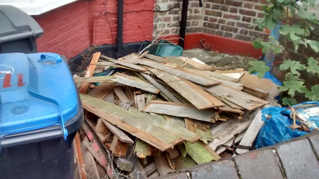 House Waste Recycling in North Sheen