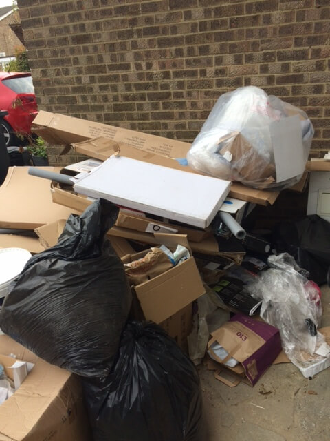 SW11 House Rubbish Collection Battersea