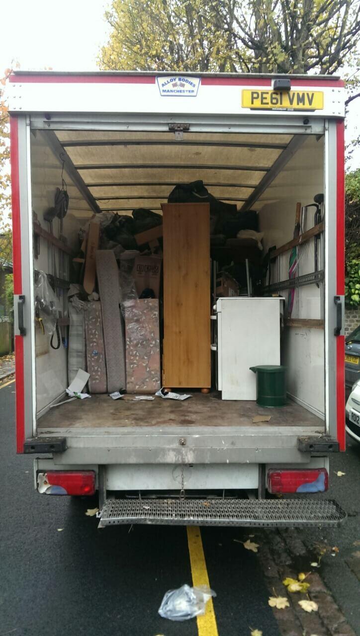 SM1 waste collectors Sutton