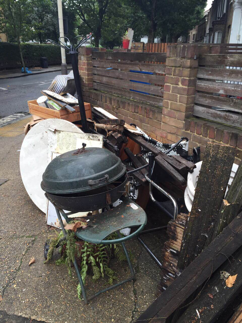Highbury Waste pickup N5
