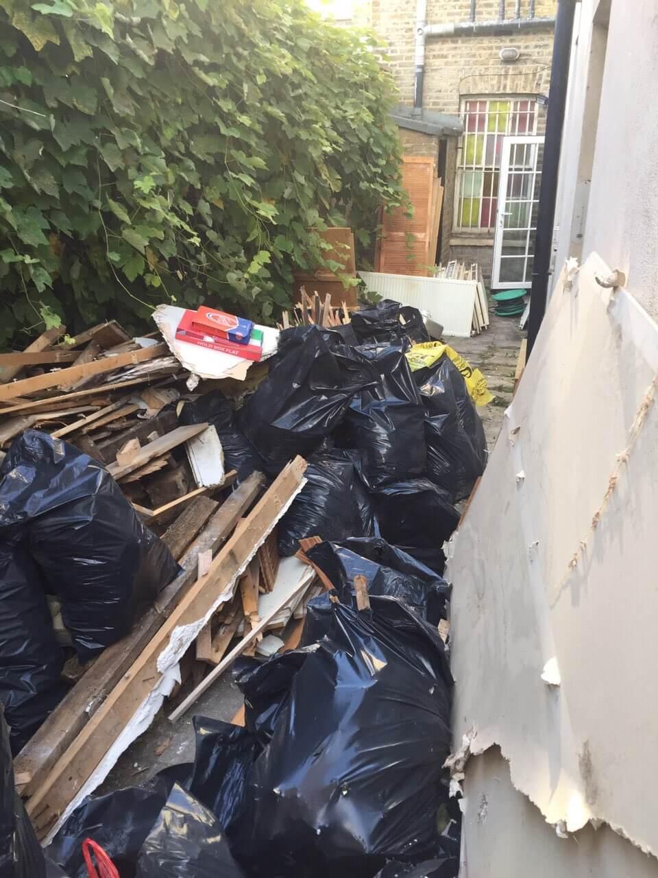 Waterloo house rubbish disposal SW1